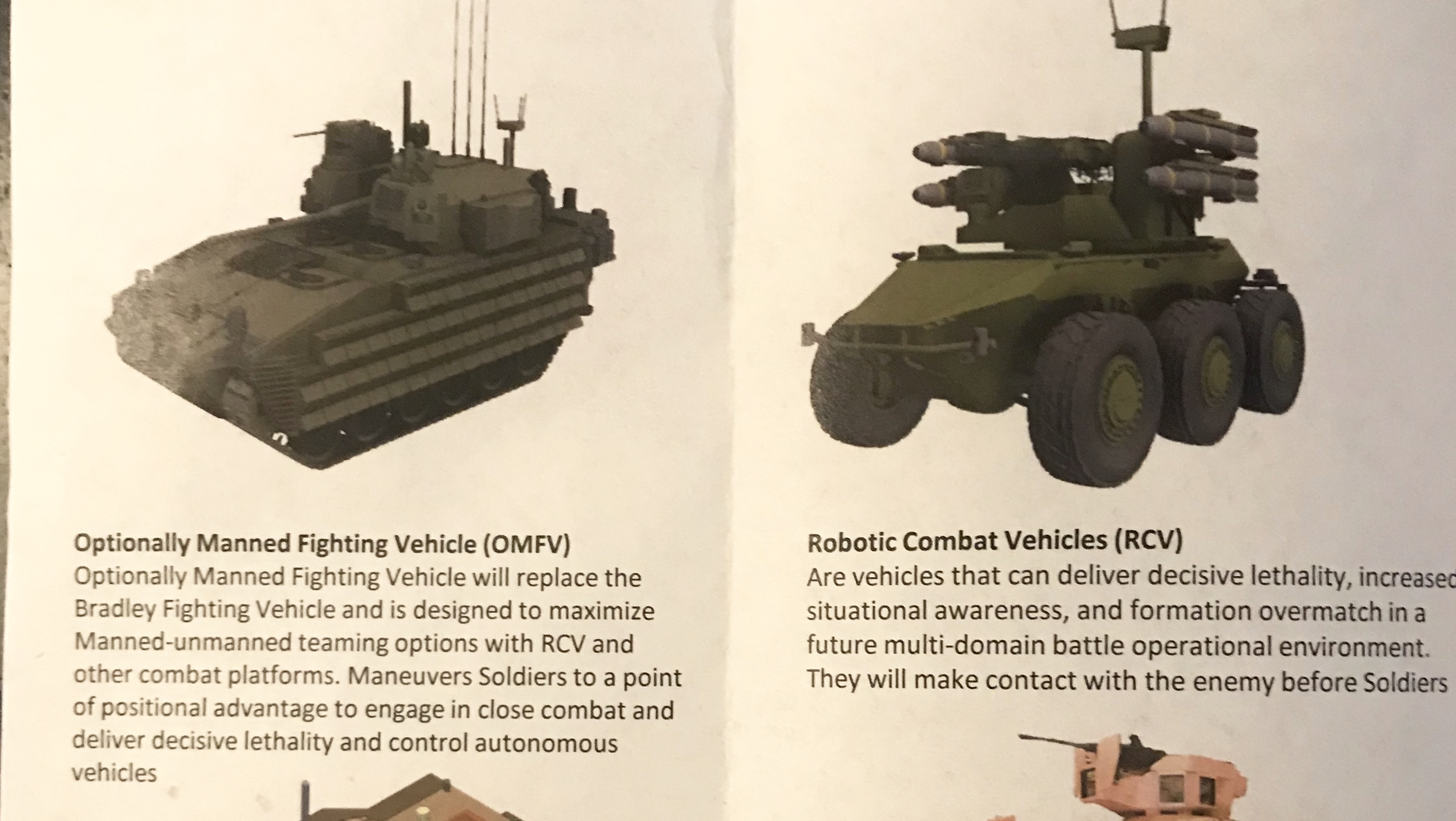 Robot Roadmap: US Army's Newest Command Sketches Priorities