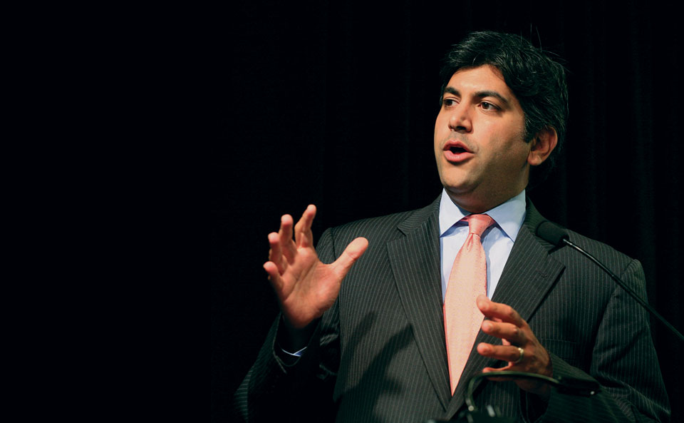 Former U.S. chief technology officer Aneesh Chopra says opening up data has helped missions across agency lines.