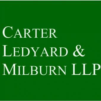 CARTER LEDYARD & MILBURN