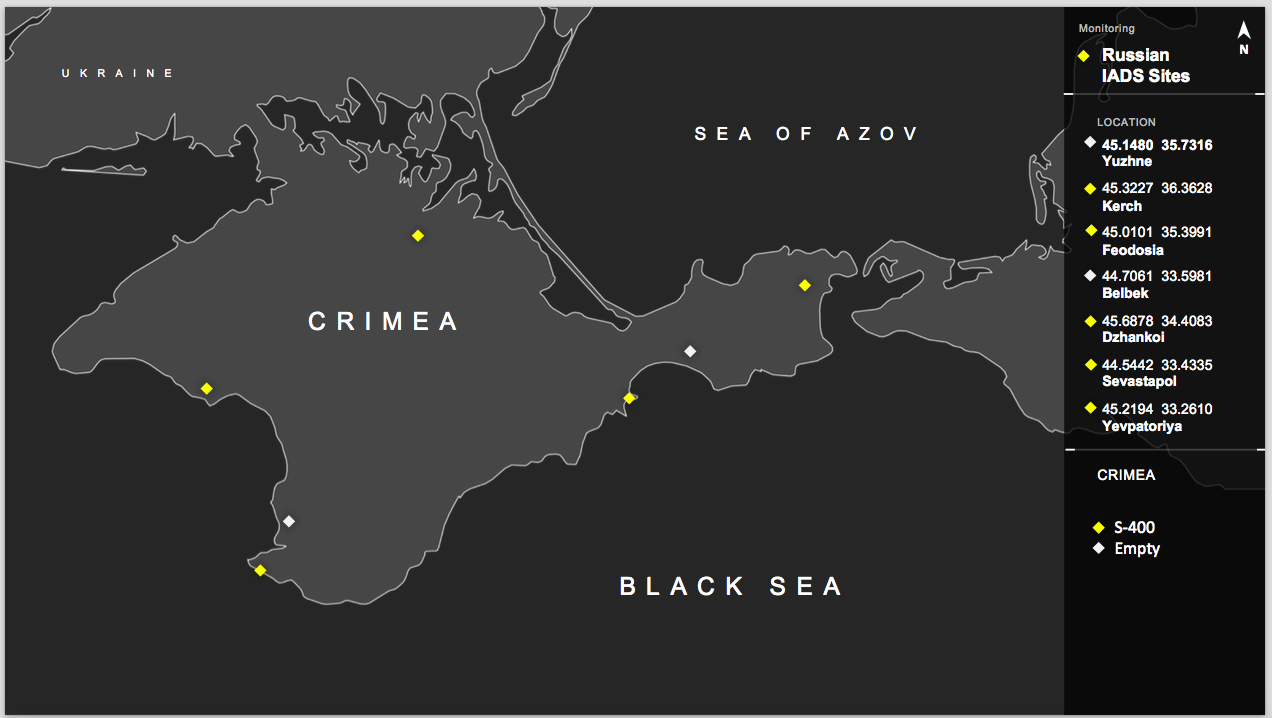 EXCLUSIVE: US Intelligence Officials and Satellite Photos Detail Russian Military Buildup on Crimea